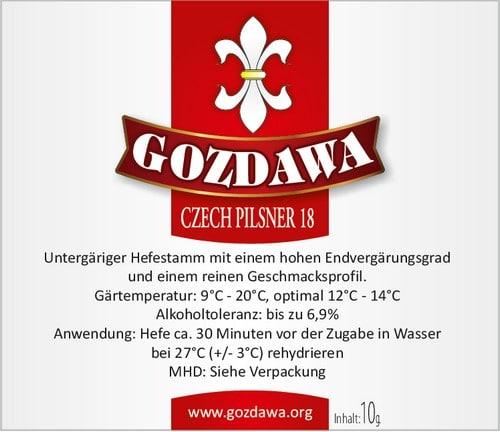 Czech Pilsner 18 gist