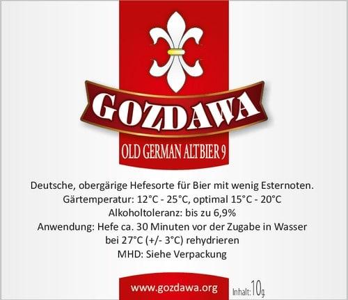Old German Alt gist